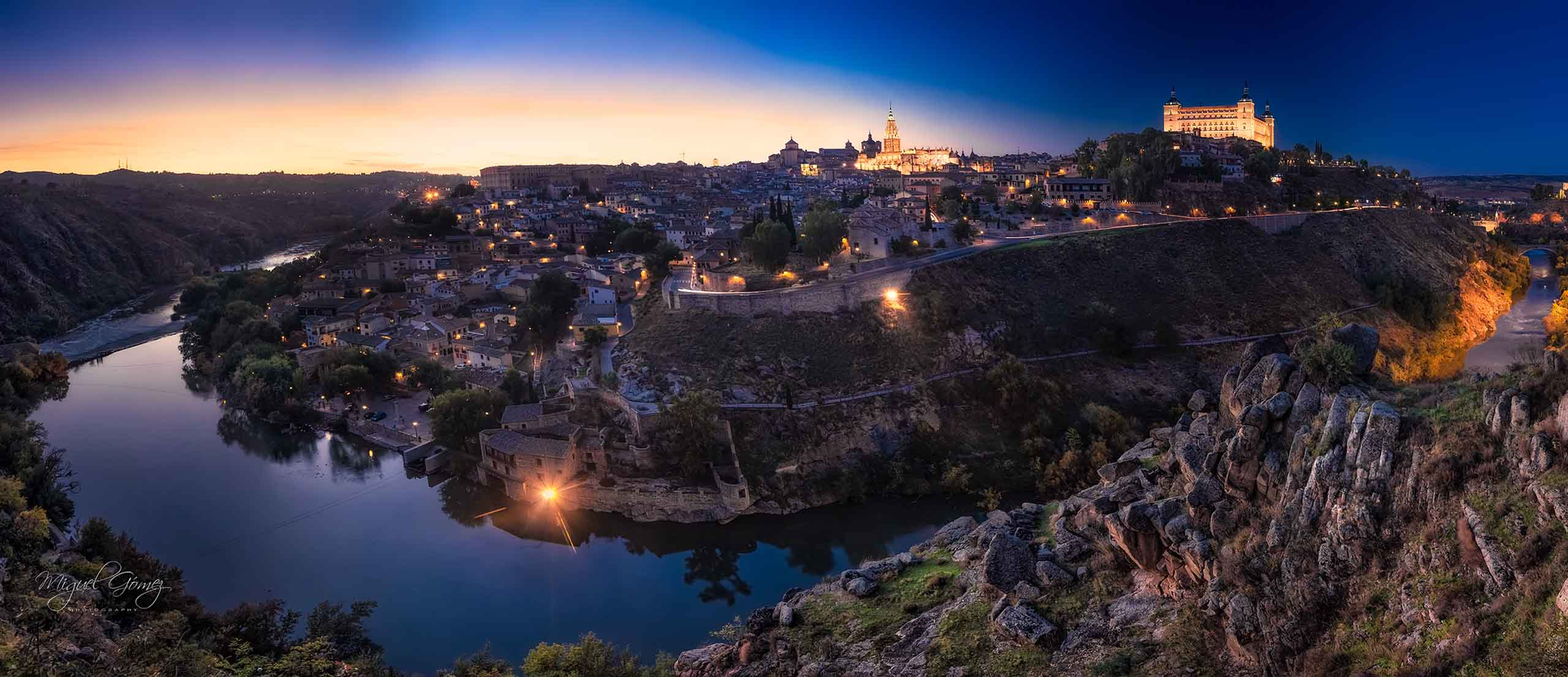Slider - Paisaje urbano de la ciudad de Toledo
